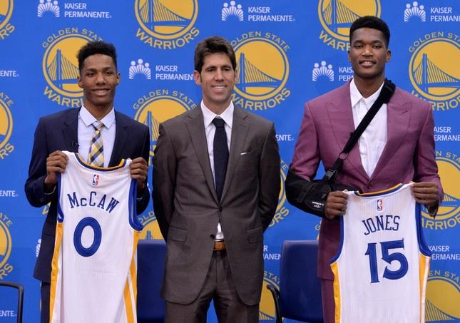2016 Warriors Draft Picks