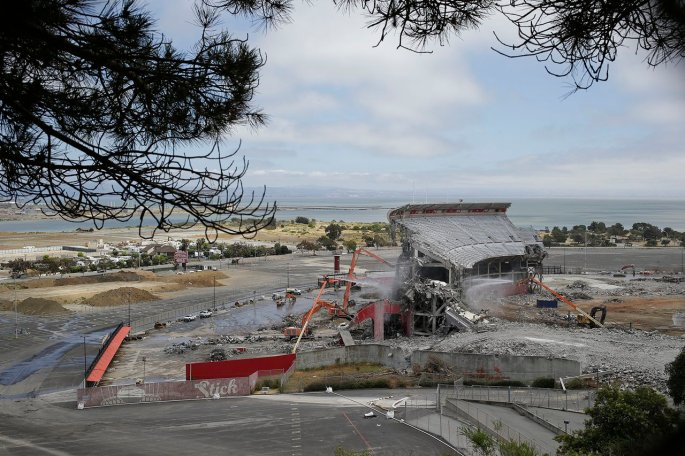 Candlestick Park Demolition