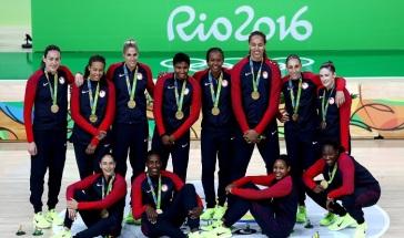 USBasketball womens gold