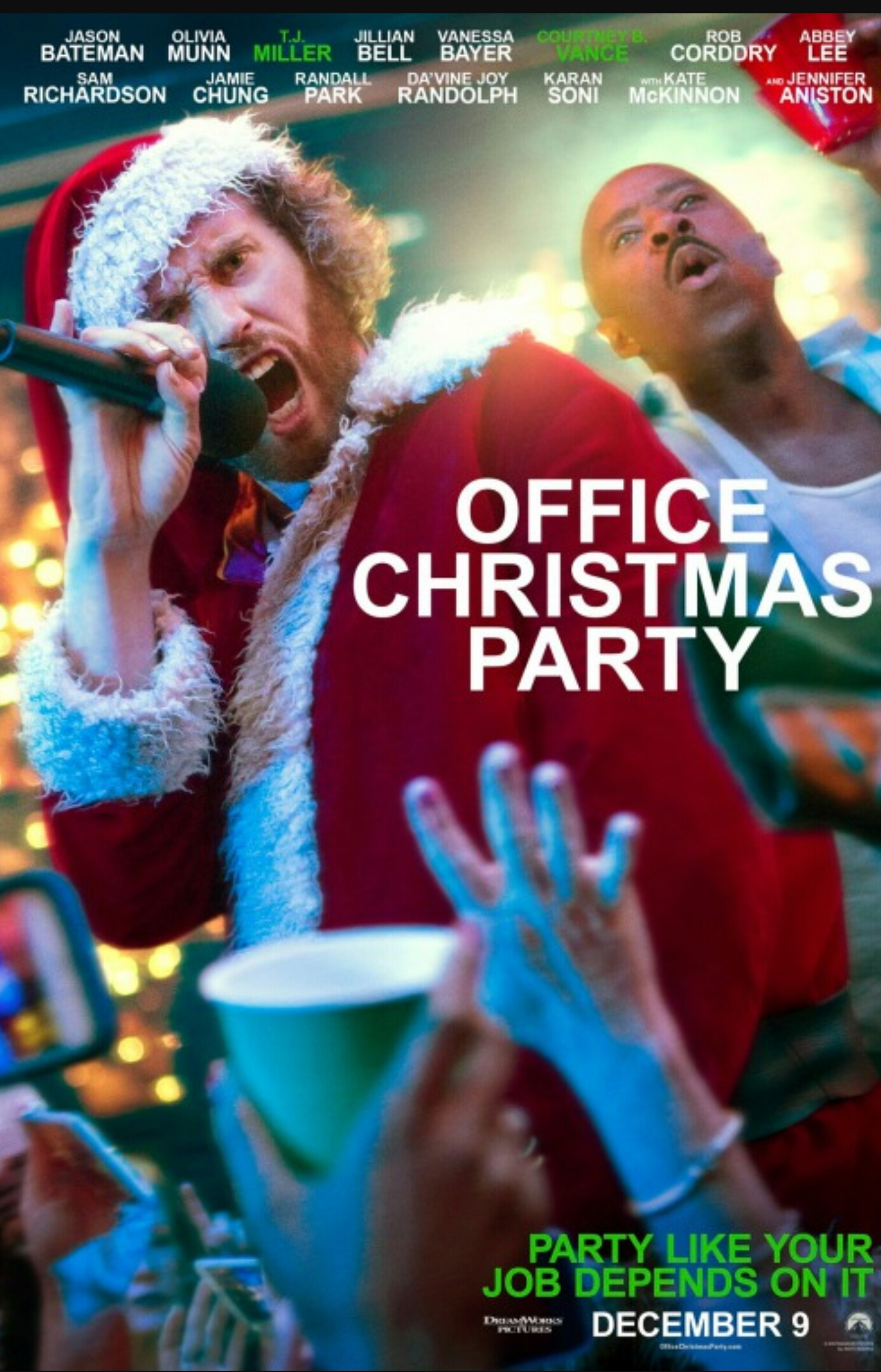 Movie Review #8: Office Christmas Party – Activities For Grown Folks