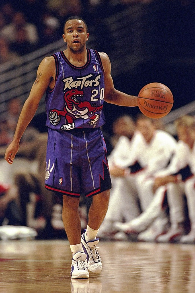 Damon Stoudamire Raptors